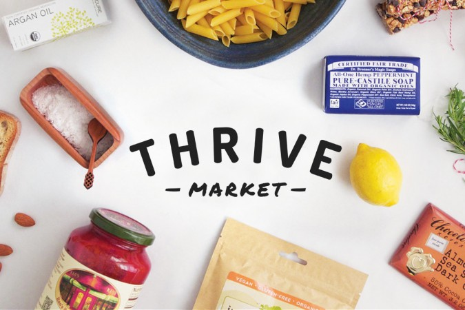 thrive market logo products