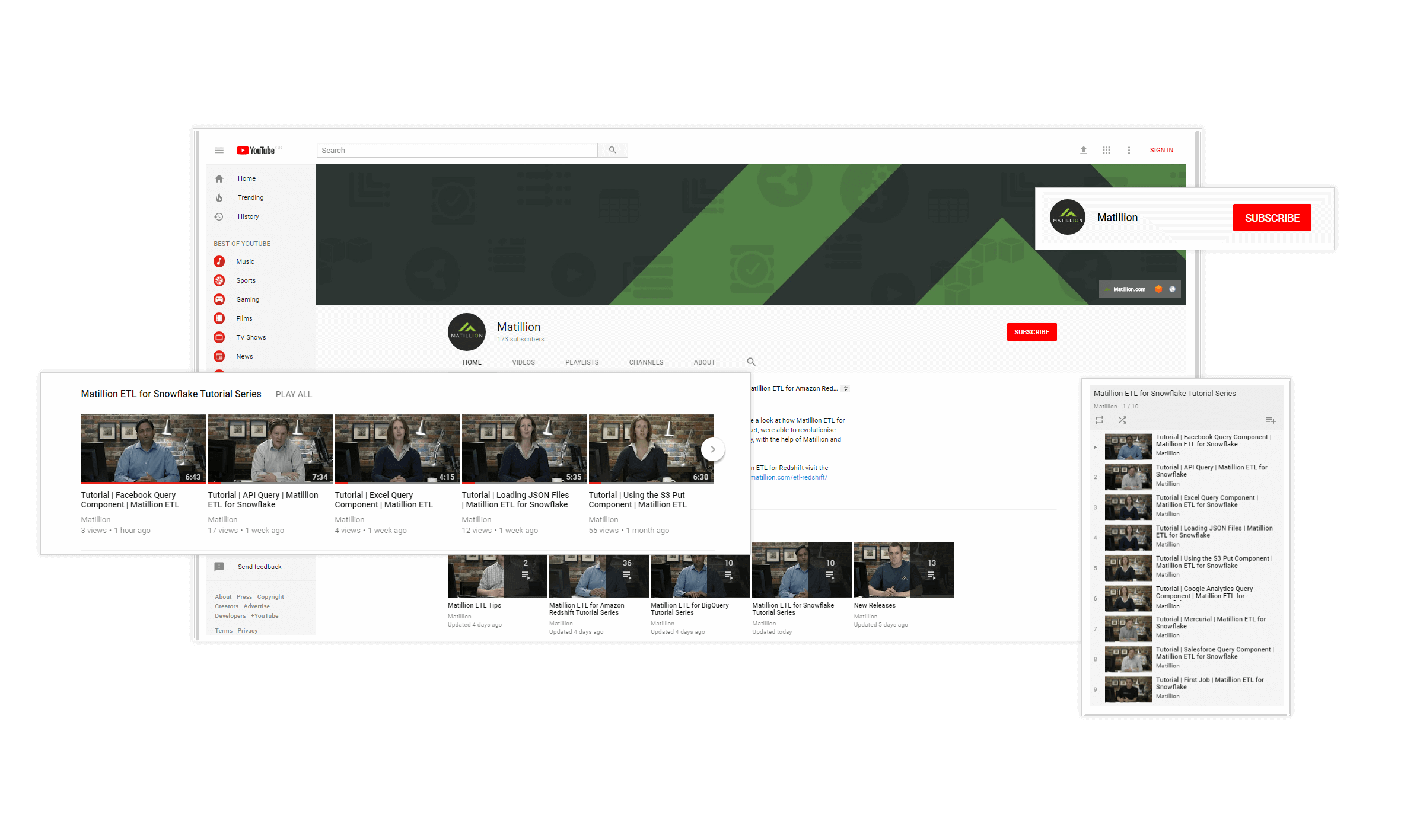 matillion etl for snowflake support youtube