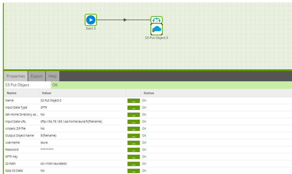 Using the S3 Put Object component in Matillion ETL for Snowflake - Copy More Files S3 Put